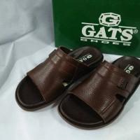 Sandal kulit merk Gats Original