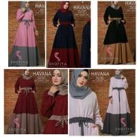 Jual gamis maxi dress baju muslim longdress panjang muslimah pesta terbaru Murah