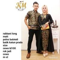 batik couple panjang rabbani