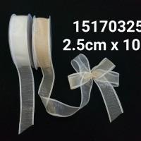Pita Organza Motif/Organza Ribbon P/15170325