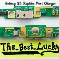 Fleksibel/Flexible Charger+Mic Samsung S5 Replika/Galaxy S5 Replika