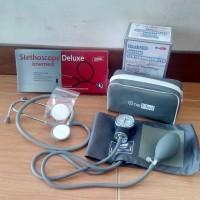 Paket Hemat Tensi Manual dan Stetoskop Onemed