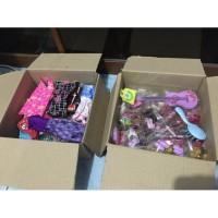 1 box mix baju, aksesoris, sepatu Barbie/ Ken Original Mattel