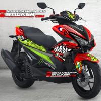 Decal motor Sticker Motor Stiker Yamaha AEROX - custom