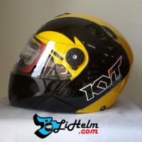 harga Helm Kyt X Rocket Retro Crymson Yellow Black Tokopedia.com