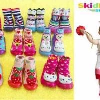Jual Skidder Sneakers Rattle Sepatu Bayi untuk Cewek Terlaris Murah
