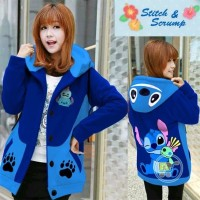 harga Wvn9 Jaket Stitch And Scrump Hoodie Korea Sweater Mantel Cewe Cowo Co Tokopedia.com