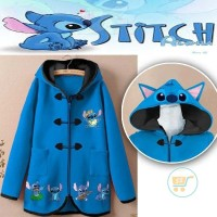 harga Wvn9 Jaket Stitch Shanghai Cute Ears Sweater Mantel Cewe Cowo Couple Tokopedia.com