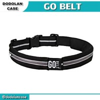 GO BELT   Double Pocket Running Belt - Tas Jogging model Ikat Pinggang