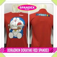 harga Murah Baju Kaos Distro Anime/kartun Doraemon Dorayaki Red  Tokopedia.com