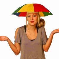 harga Wcn9 Topi Payung Headband Umbrella Hat Topi Mancing Golf Unik Outdoor Tokopedia.com