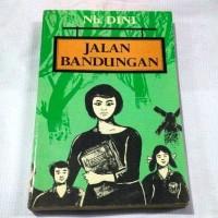 Termurah Novel Jalan Bandungan . Nh . Dini . Lawas