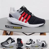 Sepatu Adidas Running EQT Support Equipment ADV Black Turbo Red