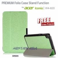 harga Zeus Flipcover Acer Iconia W4 820 Premium Case Stand Function Free Sp Tokopedia.com