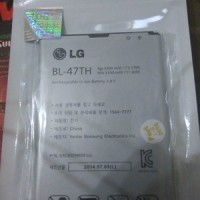 Zeus Baterai Battery Lg Bl 47th For Lg G Pro 2 F350 Original 100 Resm