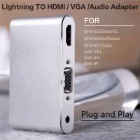 harga Zeus Lightning To Vga Audio To Hdmi 2 In 1 Tokopedia.com