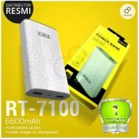 harga Zeus Powerbank Vivan Robot Rt7100 6600mah 2 Output Original Power Ban Tokopedia.com
