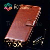 harga Zeus Xiaomi Mi 5x Mi A1 Premium Leather Wallet Case Flip Covew Tokopedia.com