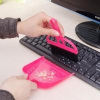Harga sapu mini set serok cikrak kecil kebersihan karpet mobil meja | antitipu.com