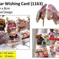 Bear Wishing Card (Kartu Ucapan Beruang)