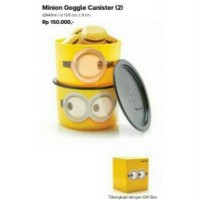 Tupperware minion google canister set isi 2