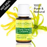 1000ml - Ylang-ylang Complete Essential Oil (Minyak kantil premium) Pu
