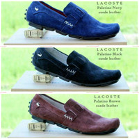 harga Sepatu Slip On Lacoste Palatino Suede High Quality - Sepatu Slip On Tokopedia.com