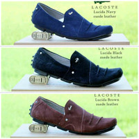 harga Sepatu Slip On Terbaru Lacoste Lucida Suede Super Quality Bukan Abal2 Tokopedia.com