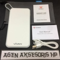 harga Power Bank Vivan Vpb-s10 10200mah Powerbank Dual Output 1a 2.4  Tokopedia.com