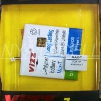 Termurah Baterai Vizz Smartfren Andromax T 2200mah - Double Power Bat