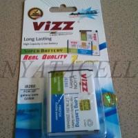 Termurah Baterai Vizz Samsung Galaxy Core 1 I8262 8260 2500mah - Doub