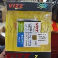 Limitted Baterai Vizz Smartfren Andromax C3 2300mah - Double Power Ba