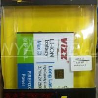 Limitted Baterai Vizz Smartfren Andromax I3 2800mah - Double Power Ba