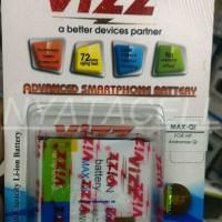 Baru ! Baterai Vizz Smartfren Andromax Qi - Double Power Batre Samsun