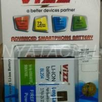 Gratisongkir! Baterai Vizz Lenovo Bl169 Bl-169 P70 S560 P800 2300mah