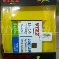 Baterai Vizz Smartfren Andromax I3s Max 3000mah - Double Power