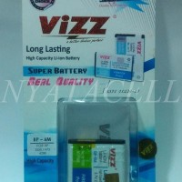 Gratisongkir! Baterai Vizz  Nokia Bp6m N73 Bp-6m 2250mah - Double Pow