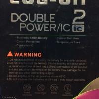 Newcase Baterai Log On Oppo Joy R1001 Blt 029 - Batre Double Power Or