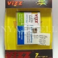 Terlaris Baterai Vizz Oppo Neo Yoyo Neo 3 K R1 2500mah - Double Power