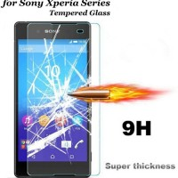 Promo Tempered Glass Sony Xperia M2 Aqua - Anti Gores Kaca Anti Shat