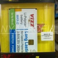 Promo Baterai Vizz Smartfren Andromax I2 2800mah - Double Power Batr