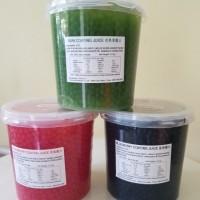 3.2kg Popping/poping Boba/bobba Blueberry/Passion Fruit(markisa) Impor