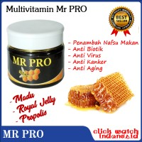 Multivitamin Mr Pro Madu dan Propolis Original HWI GC161