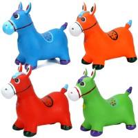 Mainan Kuda Musik Anak Jumping Animal Kualitas Karet Bagus