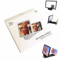 3D Enlarged Screen Mobile Phone Kaca Pembesar Layar Handphone HP