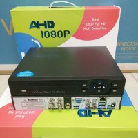DVR CCTV AHD 4 CHANEL HYBRID SUPPORT SEMUA JENIS CAMERA /FULL HD 1080