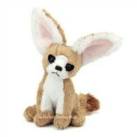 Boneka Hewan Mini Stuffed Fennec Fox