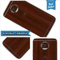 harga Original! Moto G5s Plus Skin/garskin For Case - Wood Brown (not 3m) Tokopedia.com