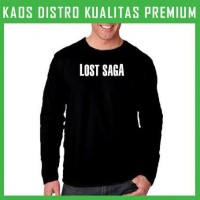 Kaos Lost Saga Logo 2 Lengan Panjang LPG-TAE80