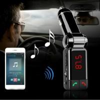 harga Bluetooth Car Handsfree Fm Transmitter Bc06s - Olb1754 Tokopedia.com